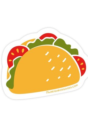 The Neighborgoods Sticker Taco
