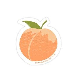 The Neighborgoods Sticker Peach