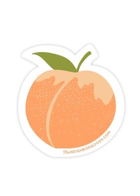 The Neighborgoods Sticker Peach