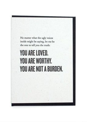 Constellation & Co Card  You Are Loved
