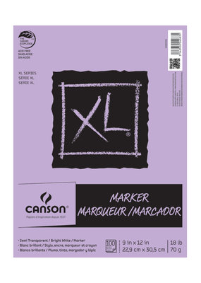 Canson Marker Pad XL Canson 9 X 12 100 Sheets