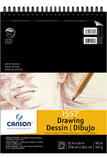 Canson Canson 1557 Drawing Pad 24 Sheets 11 X 14