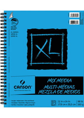 Canson XL Mixed Media Pad 11 x 14