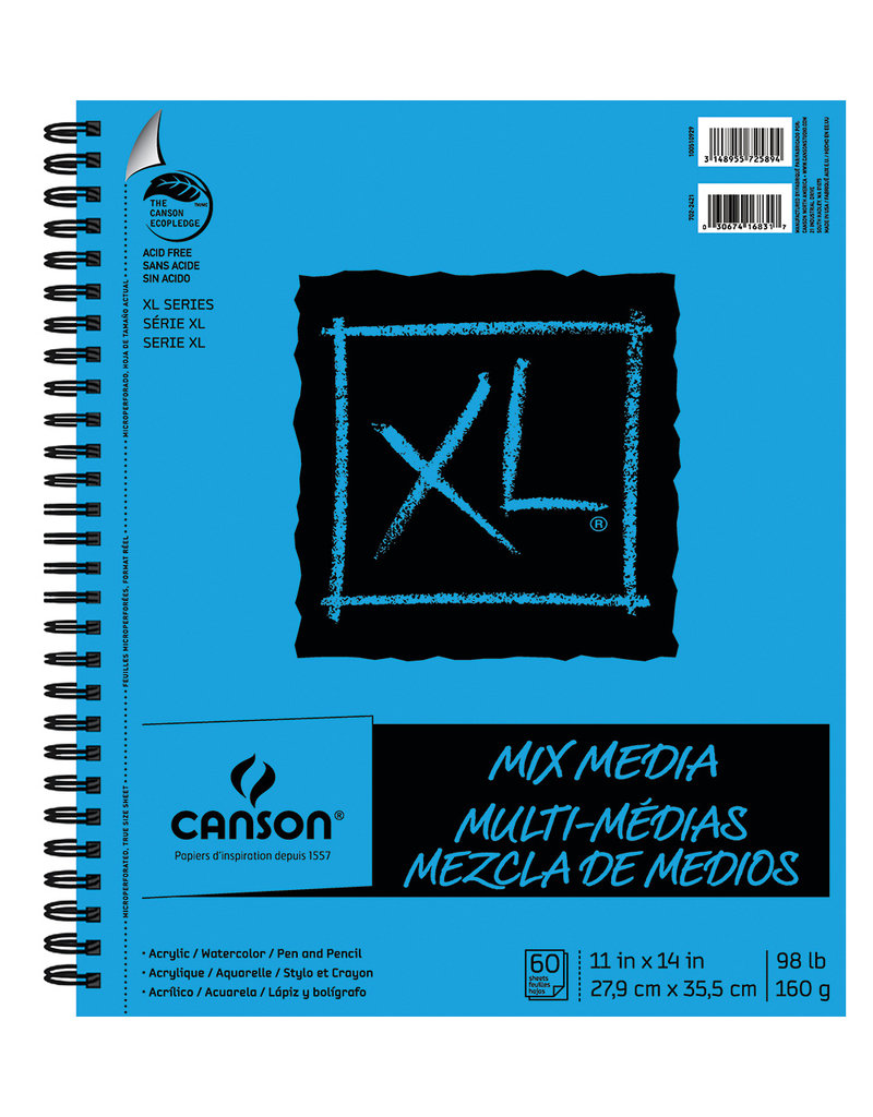 Canson XL Mixed Media Pad 11 x 14