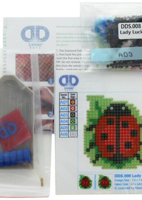 Diamond Dotz Diamond Dotz Facet Art Kit Starter Lady Luck
