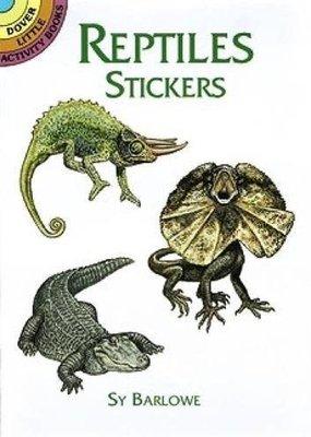Dover Stickers Reptiles