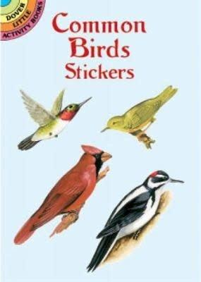 Dover Stickers Common Birds
