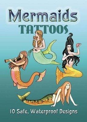 Dover Tattoo Book Mermaids