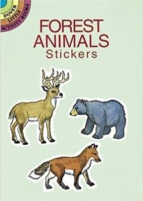 Dover Stickers Forest Animals
