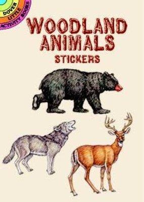 Dover Sticker Book Woodland Animals