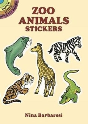 Dover Stickers Little Zoo Animals