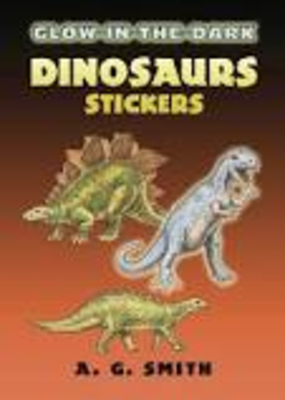 Dover Stickers Glow-in-the-Dark Dinosaurs