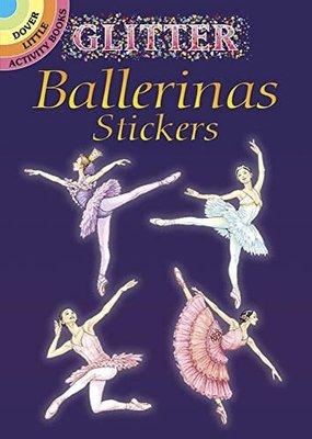 Dover Stickers Glitter Ballerinas
