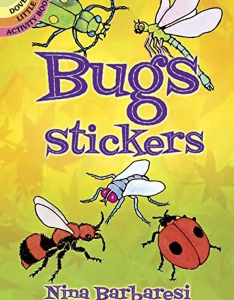 Dover Stickers Bugs