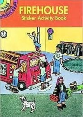 Dover Activity Sticker Book Firehouse