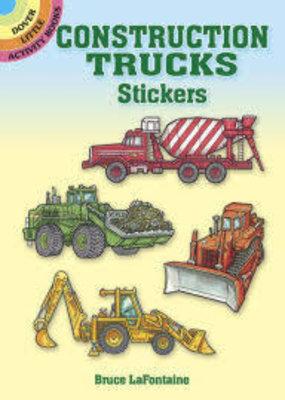 Dover Stickers Construction Trucks