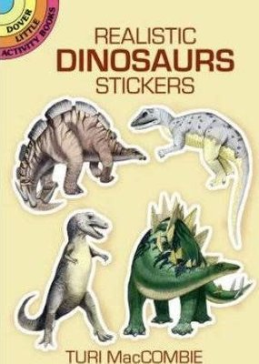 Dover Stickers Realistic Dinosaurs