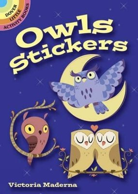 Dover Stickers - Owls