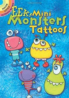 Dover Tattoos EEK! Mini Monsters