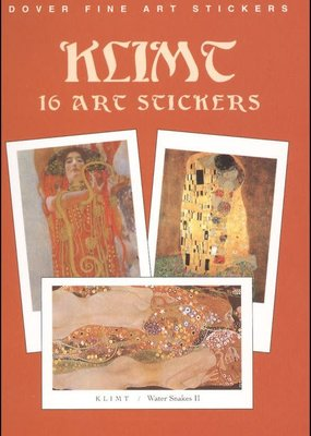 Dover Art Stickers Klimt