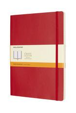 Moleskine Moleskine Classic Soft Cover Ruled Scarlet