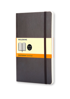 Moleskine Moleskine Classic Soft Cover Ruled Black