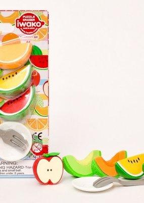 Iwako Fruit Eraser Set