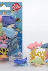 Iwako Aquarium Eraser Set