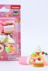 Dessert Eraser Set
