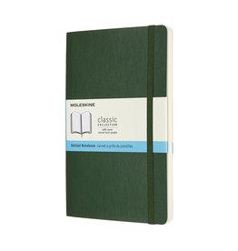 Moleskine Moleskine Classic Soft Cover Dotted Large Myrtle Green