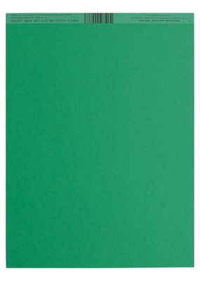 Bazzill Cardstock 8.5 x 11 Green Apple