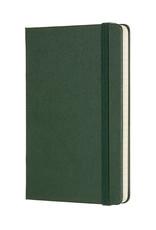 Moleskine Moleskine Classic Hard Cover Squared Pocket Myrtle Green