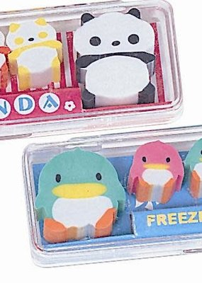 Cute Erasers in a Case