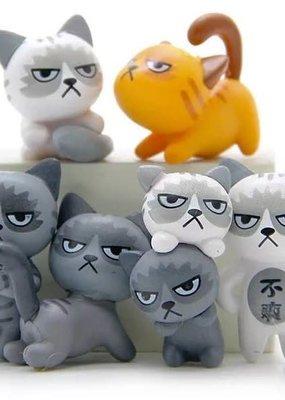 Figurine Angry Cat