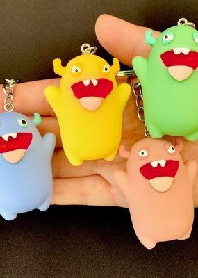 Monster Charm Keyring