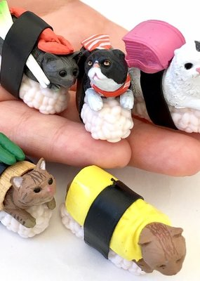 Sushi Cat Figurine