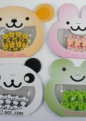 Tiny Cute Animal Erasers