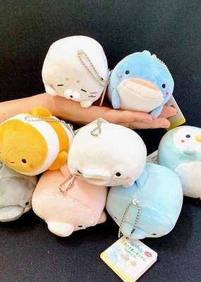 Plush Keychain Sea Life