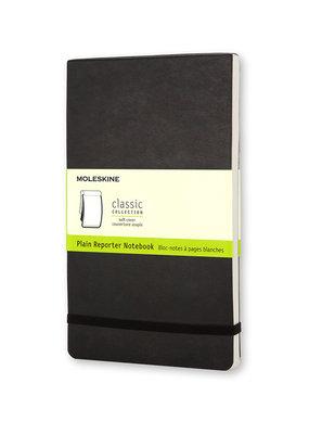 Moleskine Moleskine Reporter Soft Cover Plain Black
