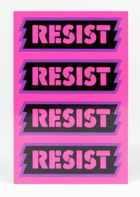 Notes To Self Postcard Resist