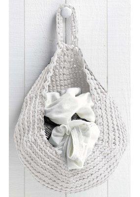 Hoooked Crochet Kit Storage Bag Off-White