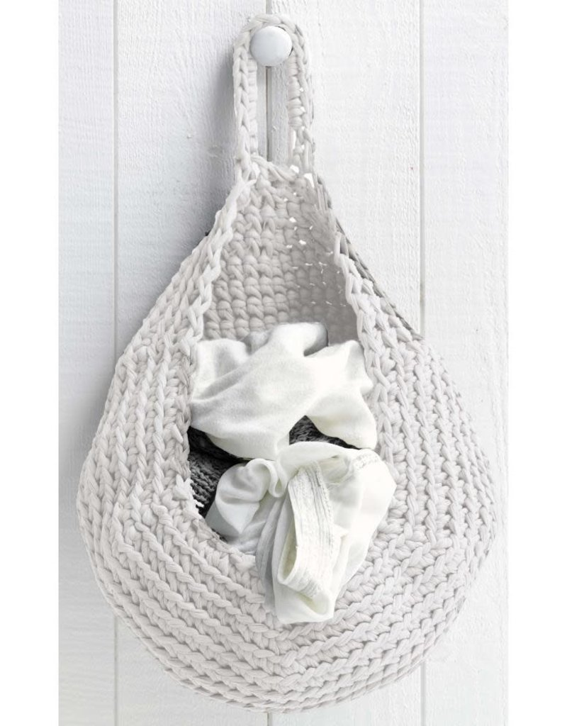 Hoooked Crochet Kit Storage Bag Off-White