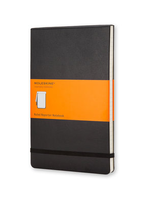 Moleskine Moleskine Reporter Hard Cover Ruled Black