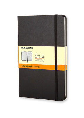 Moleskine Moleskine Classic Hard Cover Ruled Black
