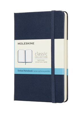Moleskine Moleskine Classic Hard Cover Dot Grid Pocket Sapphire Blue