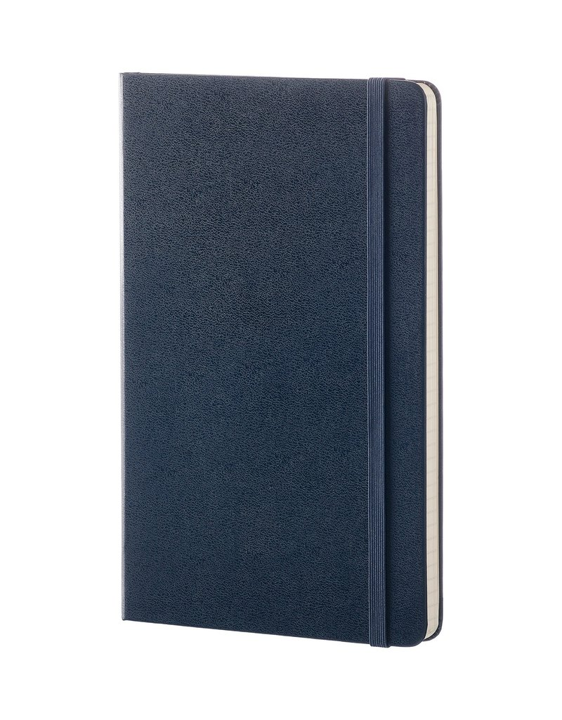 Moleskine Moleskine Classic Hard Cover Dot Grid Large Sapphire Blue