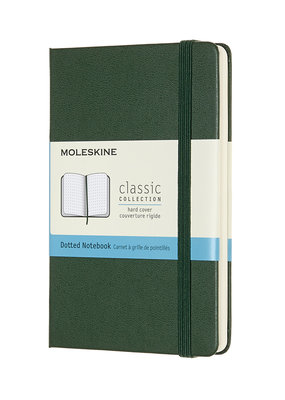 Moleskine Moleskine Classic Hard Cover Dot Grid Pocket Myrtle Green