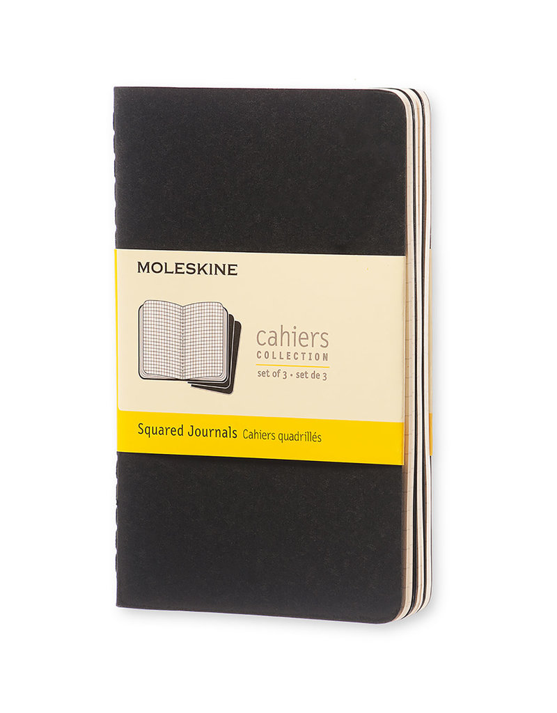 Moleskine Moleskine Cahier Set of 3 Squared