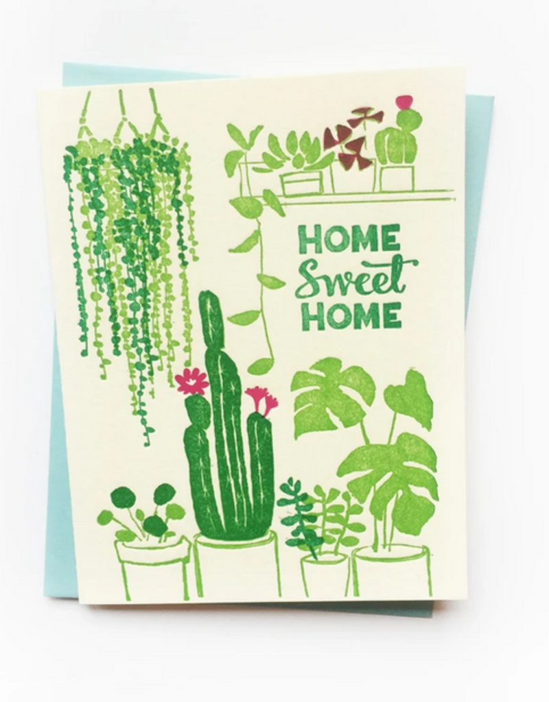 Ilee papergoods Card House Plants