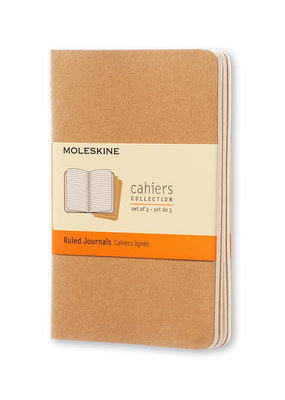 Moleskine Moleskine Cahier Set of 3 Ruled